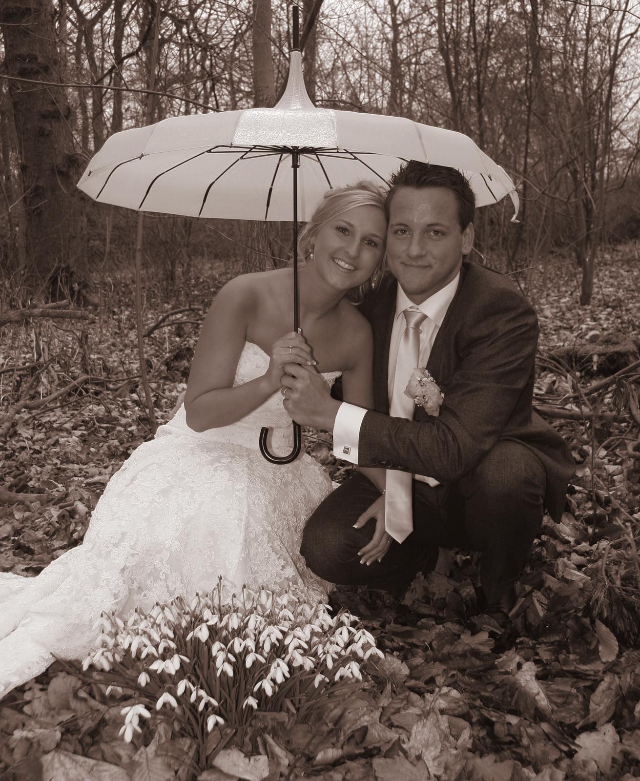 Kezia og Emil brudepar eventyr